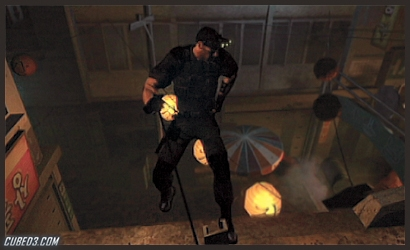 Screenshot for Splinter Cell 3D on Nintendo 3DS - on Nintendo Wii U, 3DS games review