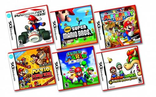 Image for Grab your  DS Lite Today + New Red Mario Cases