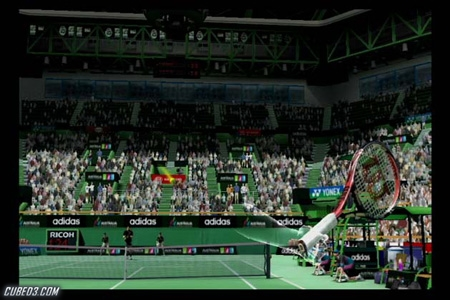 Screenshot for Virtua Tennis 4 on Wii- on Nintendo Wii U, 3DS games review