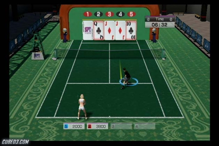 Screenshot for Virtua Tennis 4 on Wii - on Nintendo Wii U, 3DS games review