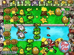 Screenshot for Plants VS Zombies on Nintendo DS