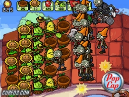 Screenshot for Plants VS Zombies on Nintendo DS - on Nintendo Wii U, 3DS games review