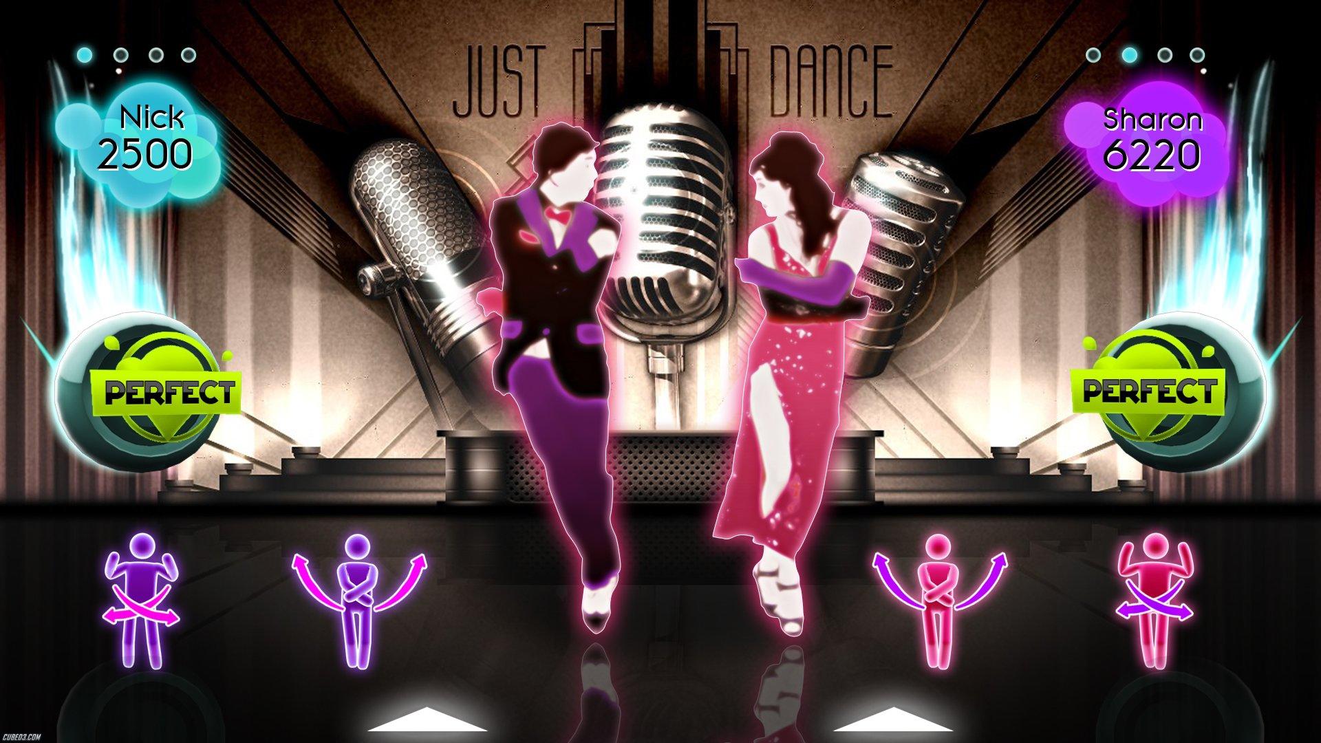 Screens Zimmer 7 angezeig: just dance download
