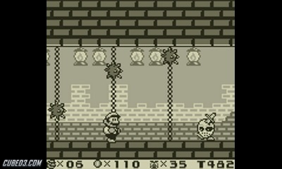 Screenshot for Super Mario Land 2: 6 Golden Coins on Game Boy - on Nintendo Wii U, 3DS games review
