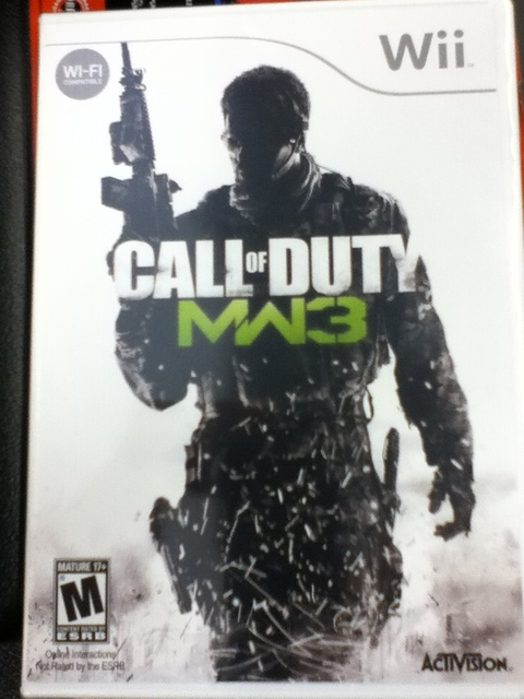 Notes. Call of Duty Modern Warfare 3.USA.PROPER.READNFO.WII-dumpTruck