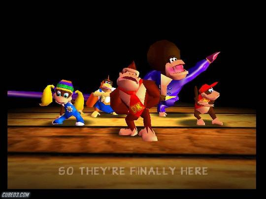Screenshot for Donkey Kong 64 on Nintendo 64 - on Nintendo Wii U, 3DS games review