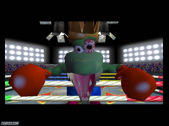 Screenshot for Donkey Kong 64 on Nintendo 64- on Nintendo Wii U, 3DS games review
