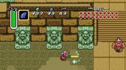 Screenshot for The Legend of Zelda: A Link to the Past - click to enlarge