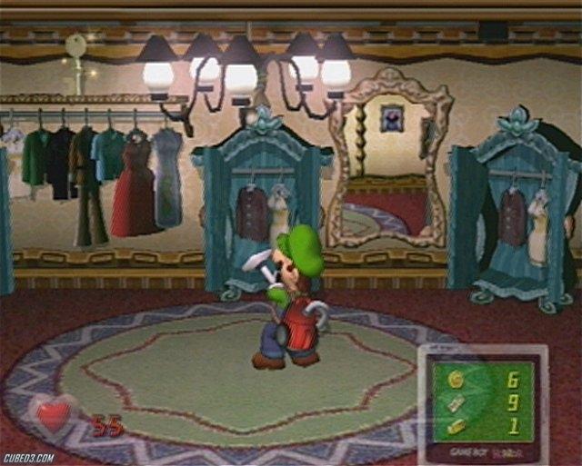 Luigi S Mansion On Gamecube News Reviews Videos