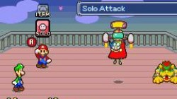Screenshot for Mario & Luigi: Superstar Saga - click to enlarge