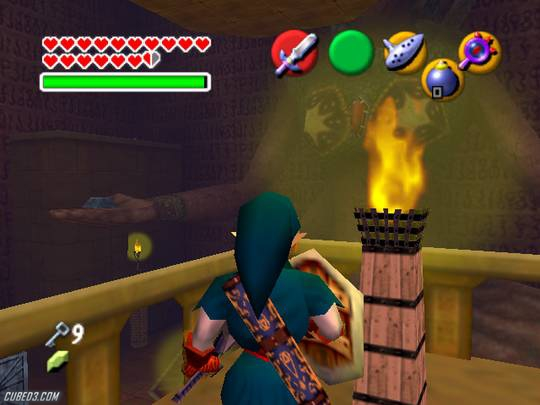 Screenshot for The Legend of Zelda: Ocarina of Time / Master Quest on GameCube