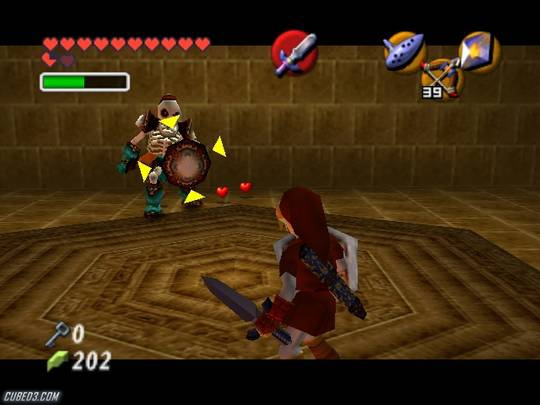 The Legend of Zelda: Ocarina of Time / Master Quest GameCube