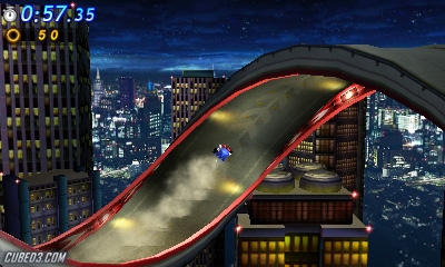 Screenshot for Sonic Generations on Nintendo 3DS - on Nintendo Wii U, 3DS games review