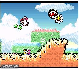 Screenshot for Super Mario World 2: Yoshi's Island on Super Nintendo