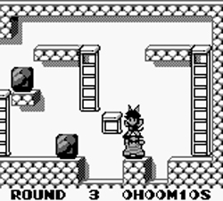 Screenshot for Catrap on Game Boy - on Nintendo Wii U, 3DS games review