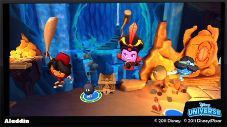 Screenshot for Disney Universe on Wii- on Nintendo Wii U, 3DS games review