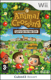 Box art for Animal Crossing: Let's Go to the City