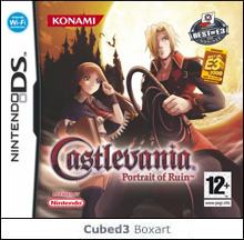 Box art for Castlevania: Portrait of Ruin