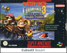 Box art for Donkey Kong Country 3: Dixie Kong's Double Trouble