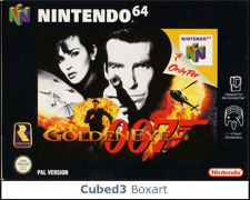 Box art for GoldenEye 007