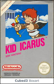 Box art for Kid Icarus