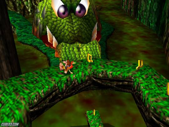 Screenshot for Banjo-Kazooie on Nintendo 64 - on Nintendo Wii U, 3DS games review