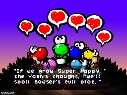 Screenshot for Yoshi's Story on Nintendo 64- on Nintendo Wii U, 3DS games review