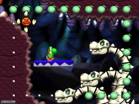 Screenshot for Yoshi's Story on Nintendo 64 - on Nintendo Wii U, 3DS games review