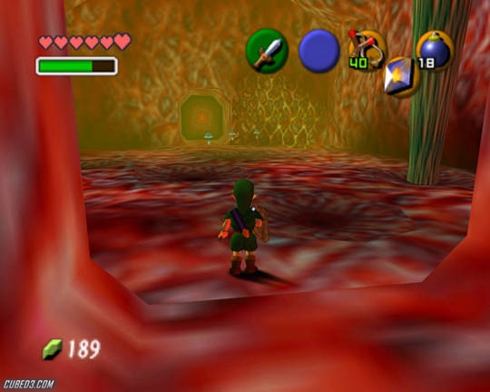 Screenshot for The Legend of Zelda: Ocarina of Time on Nintendo 64