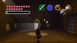Screenshot for The Legend of Zelda: Ocarina of Time - click to enlarge