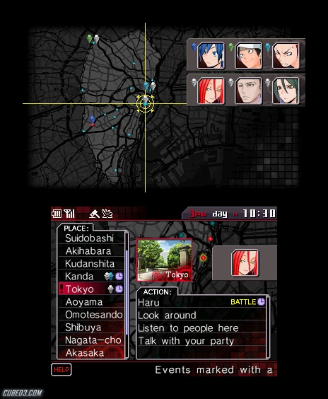 Screenshot for Shin Megami Tensei: Devil Survivor Overclocked on Nintendo 3DS