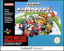 Box art for Super Mario Kart