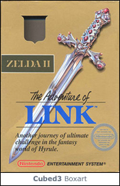 Box art for Zelda II: The Adventure of Link