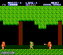 Screenshot for Zelda II: The Adventure of Link on NES- on Nintendo Wii U, 3DS games review