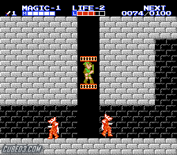 Screenshot for Zelda II: The Adventure of Link on NES - on Nintendo Wii U, 3DS games review