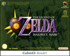 Box art for The Legend of Zelda: Majora's Mask