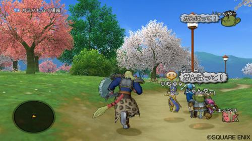 Screenshot for Dragon Quest X: Mezameshi Itsutsu no Shuzoku Online on Wii