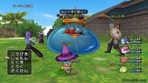 Screenshot for Dragon Quest X: Rise of the Five Tribes Online on Wii