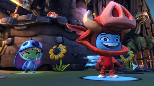 Screenshot for Disney Universe (Hands-On) on Wii
