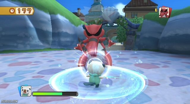Screenshot for PokéPark 2: Wonders Beyond on Wii - on Nintendo Wii U, 3DS games review