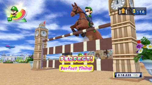 Screenshot for Mario & Sonic at the London 2012 Olympic Games (Wii) (Hands-On) on Wii