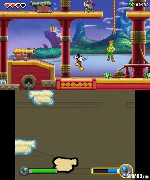 Screenshot for Disney Epic Mickey: Power of Illusion on Nintendo 3DS - on Nintendo Wii U, 3DS games review