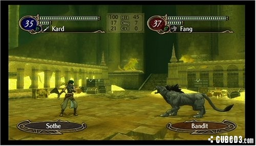 Screenshot for Fire Emblem: Radiant Dawn on Wii