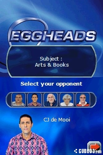 Screenshot for Eggheads on Nintendo DS - on Nintendo Wii U, 3DS games review