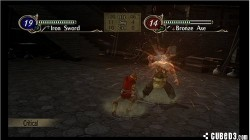 Screenshot for Fire Emblem: Radiant Dawn - click to enlarge