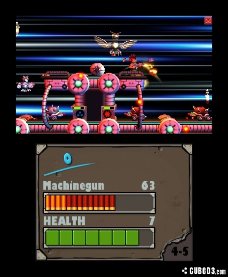 Screenshot for Alien Chaos 3D on Nintendo 3DS - on Nintendo Wii U, 3DS games review