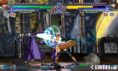 Screenshot for BlazBlue: Continuum Shift II on Nintendo 3DS- on Nintendo Wii U, 3DS games review