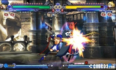 Screenshot for BlazBlue: Continuum Shift II on Nintendo 3DS