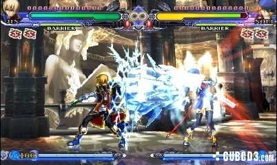 Screenshot for BlazBlue: Continuum Shift II on Nintendo 3DS - on Nintendo Wii U, 3DS games review