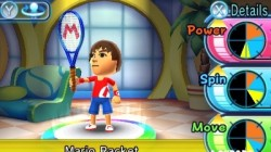 Screenshot for Mario Tennis Open - click to enlarge